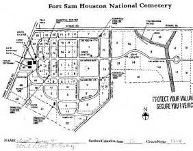 ft sam houston map indiana map