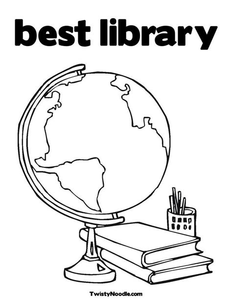 coloring pages library school library coloring pages coloring home