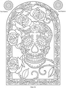 day of the dead coloring book day of the dead skull coloring pages coloring home