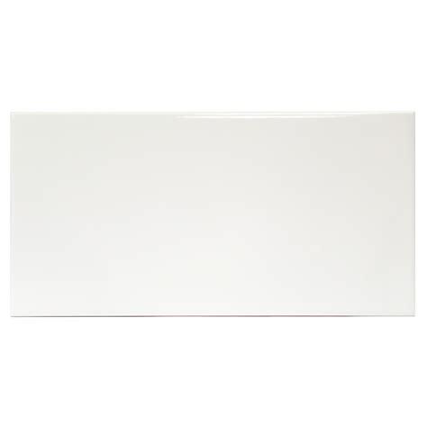 basic 8x16 white ceramic tile