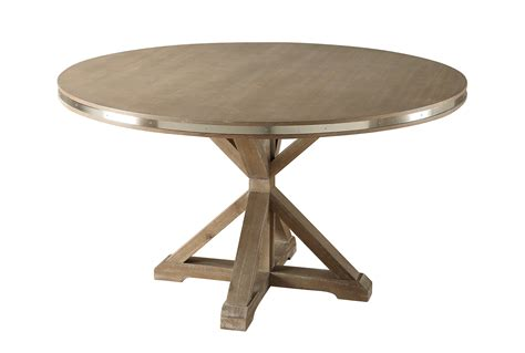 Homelegance Beaugrand Round Dining Table Brown 5177 54 54 Dining Table