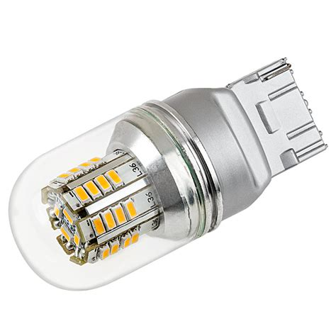 Single Led Light Bulbs 7440 Led Bulb W Stock Cover 36 Smd Led Tower Wedge Retrofit Led Brake Light Turn Light