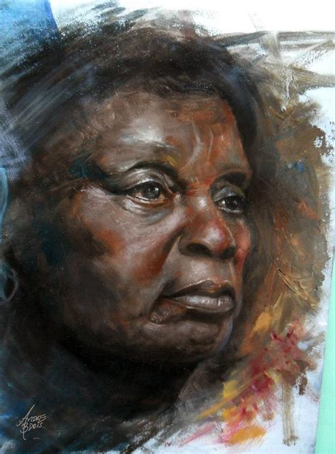 black woman paintings portraits study black skin 01 by andrebdois on deviantart