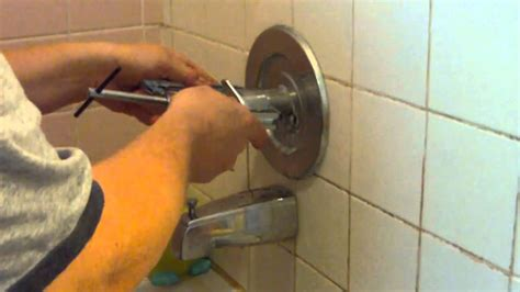 Delta Faucet Handle Removal by How To Remove A Stuck Shower Faucet Handle