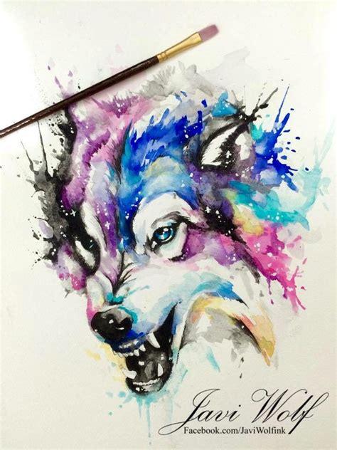 watercolor tattoo frankfurt de 25 bedste id 233 er inden for javi wolf p 229