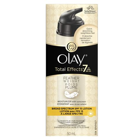Olay Total Effects Moisturizer olay total effects feather weight moisturizer with spf 15