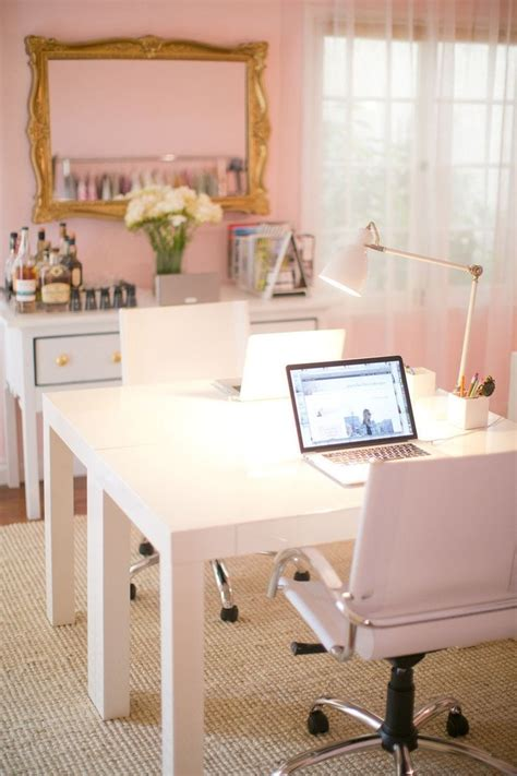 Girly Home Office Accessories Pictures To Pin On Pinterest Feminine Desk Accessories