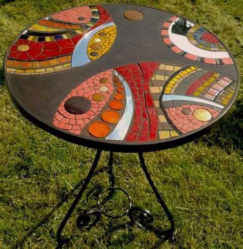 table gu 233 ridon en mosa 239 que bois marin et fer forg 233 tables