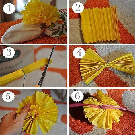 How To Make A Paper Pom Pom - 35 tissue paper pom poms guide patterns