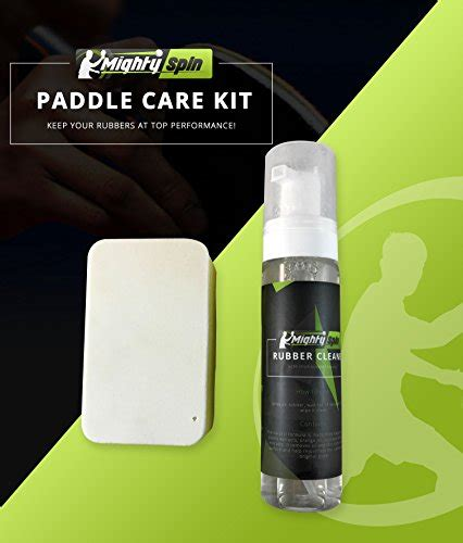 table tennis racket cleaning kit mightyspin ping pong paddle cleaner table tennis rubber