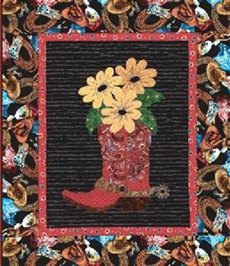 Western Themed Quilt Patterns by January 2013 Applique