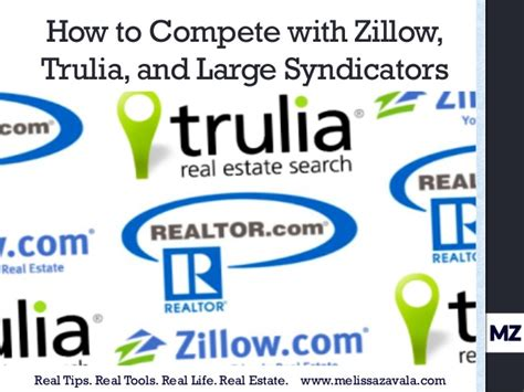 how real estate agents can compete with zillow and trulia