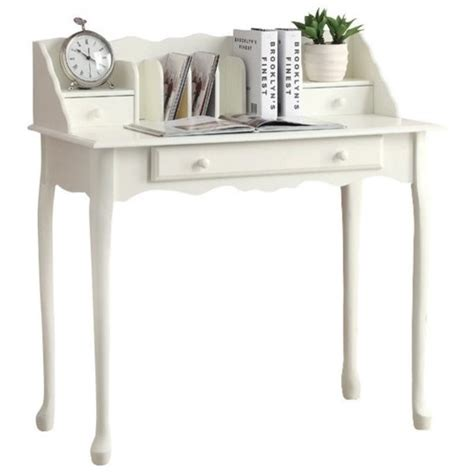 traditional desk in antique white i 3103