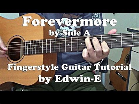 Fingerstyle Tutorial Forevermore | guitar tutorial forevermore by side a w tabs