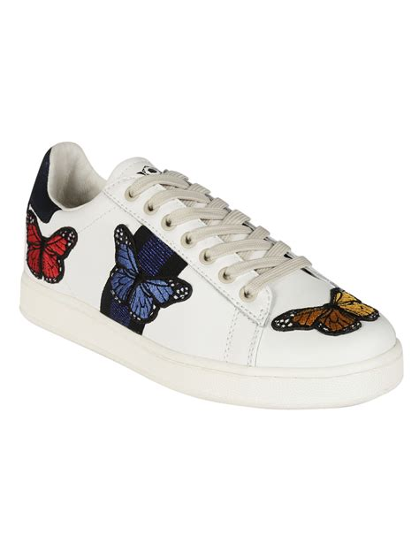 butterfly sneakers m o a master of arts master of arts embroidered