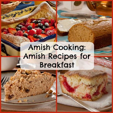 Handmade Breakfast - amish cooking 8 amish recipes for breakfast mrfood
