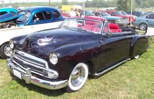 1951 Chevrolet Convertible 1951 Chevrolet Convertible Black W Flames