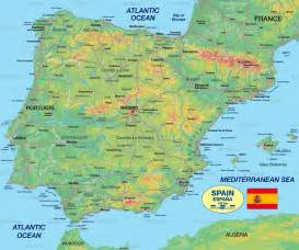 Spanish World Map by View Map Of Spain