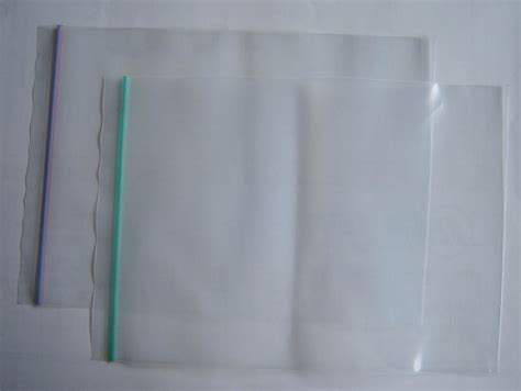 different types of plastic zipper bags packaging