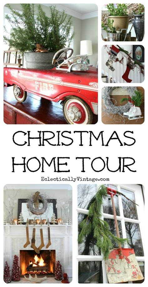 christmas house tours filled with tons of truly unique