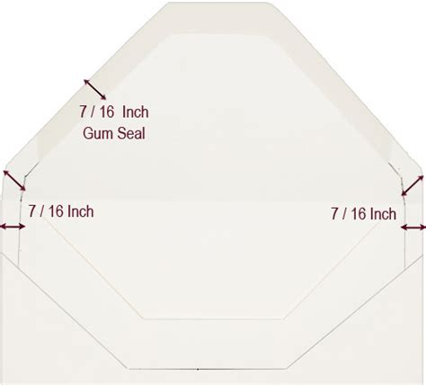 Make Your Own Envelope Liner Template Free Tutorial Lci Paper Envelope Liner Template