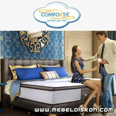 Bed Comforta Di Bandung toko furniture di bandung harga bed murah promo
