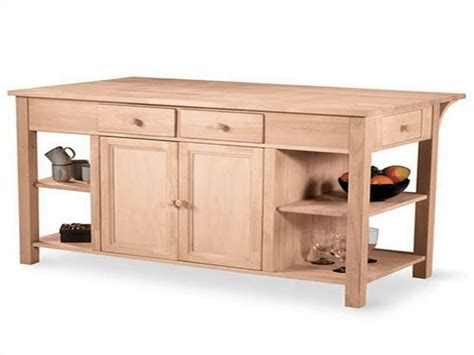 before buying unfinished kitchen island