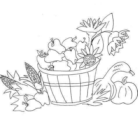 fall coloring page borders christian images in my treasure box squirrels and leaves