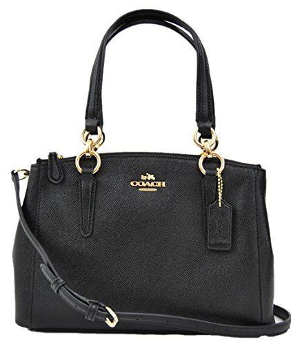 Coach Mini Beechwood gpl coach mini christie carryall satchel in crossgrain