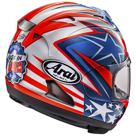 Arai Rx7x Hayden nicky hayden arai rx 7v wsbk helmet replica race helmets