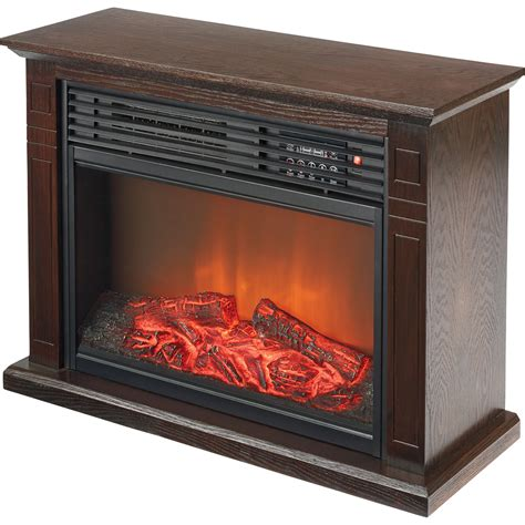 profusion heat electric fireplace with 3 color
