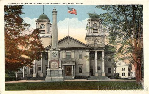 danvers town hall and high school