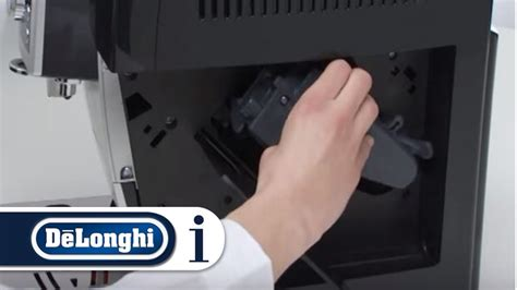 how to clean the infuser of your de longhi ecam 23 210 coffee machine