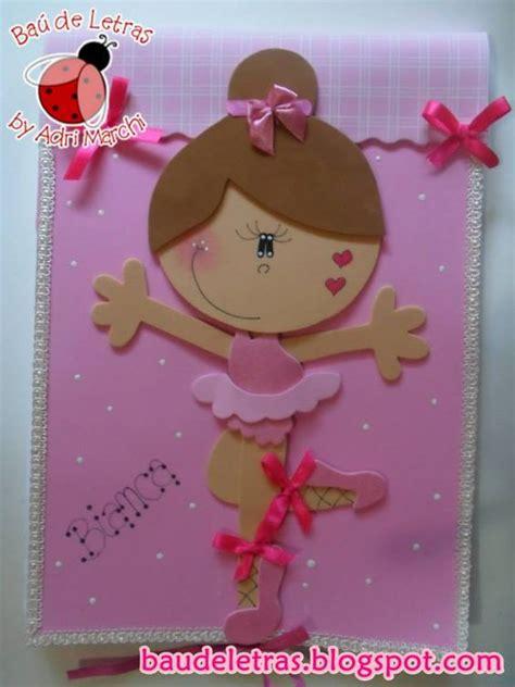 bailarina de vale en fomi bailarina capas para caderno pinterest