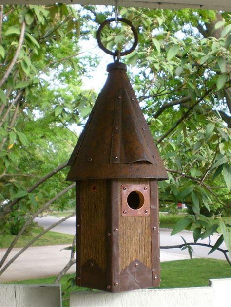 Handmade Birdhouses - arts and crafts birdhouse handmade from reclaimed barn