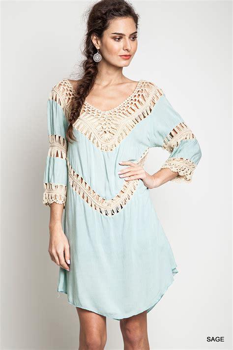 Tunik Style Rin endless envy s fashion clothing jewelry umgee crochet knit tunic mint boho endless