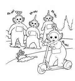 transmissionpress teletubbies coloring pages