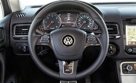 Vw Touareg R Line Interior by Car And Driver