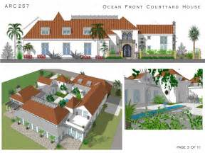 Spanish Style House Plans With Courtyard Spanish Style House Plans With Courtyard Spanish Courtyard