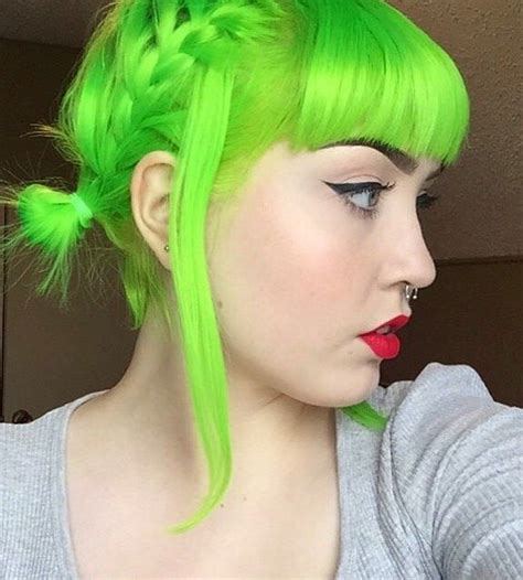 hair colors for green 1000 ideas about bright hair colors on
