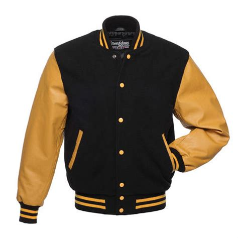 Baseball Jackrt Blackstar Ori Black Grey stewart strauss black wool gold leather varsity letterman school jacket ebay