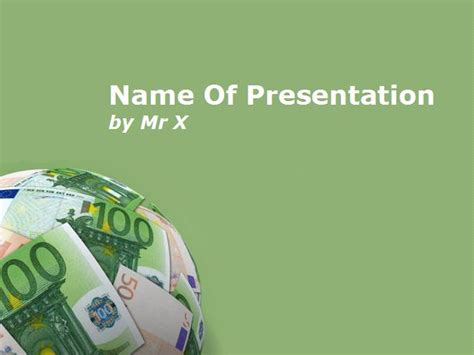 money powerpoint template earth planet illustrated with money bills powerpoint template