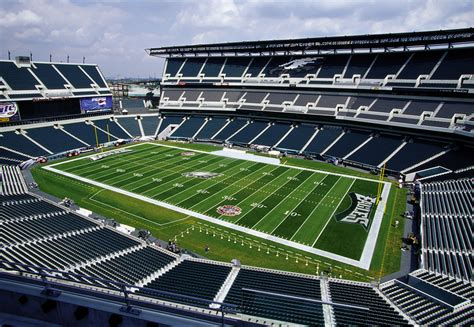 seating capacity of lincoln financial field lincoln financial field stadium venues schedule and