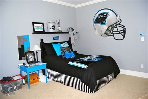 carolina panthers bedroom ideas carolina panthers bedroom my home projects pinterest