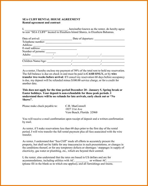 house rental agreement sample rent house agreement 75 main group