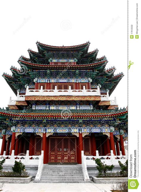 building style chinese style building stock photography image 17612532