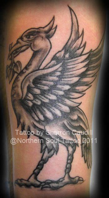 liverpool fc tattoo designs liverbird northern soul liverpool