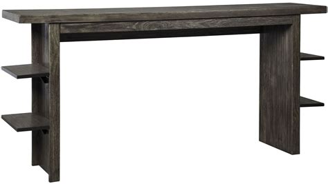 desk height for 6 2 lamoille dark gray long counter height dining from