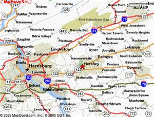 Hershey Pennsylvania Map by Map Of Hershey Pa Area Pictures To Pin On Pinterest