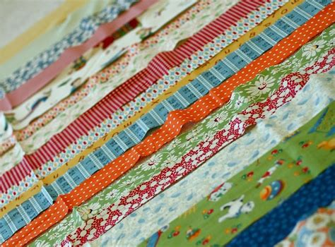 Binding Strips For Quilts by A Quilt Is Stripes Baby Quilt